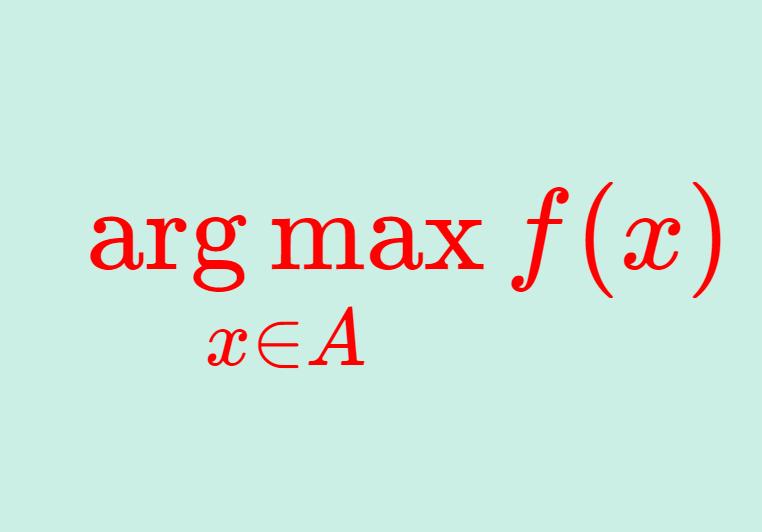 argmax