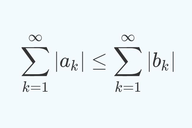 級数の比較判定法