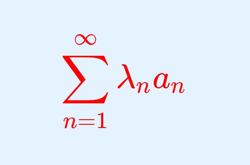 級数の収束におけるディリクレの定理・アーベルの定理