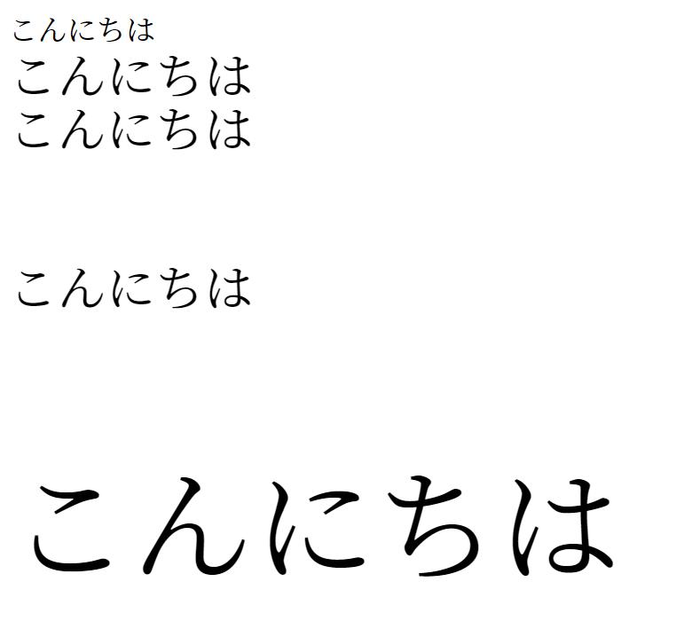 【LaTeX】文字サイズの変更方法まとめ
