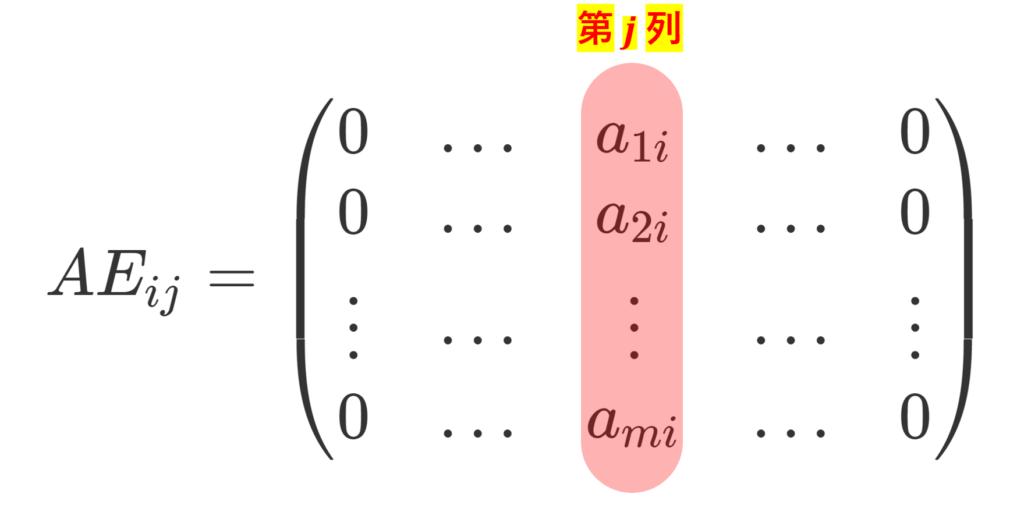 AE_{ij} の計算結果