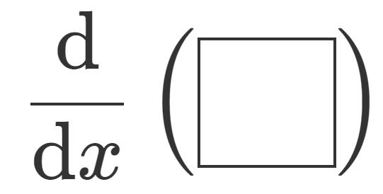 LaTeXにおける微分・偏微分のかき方