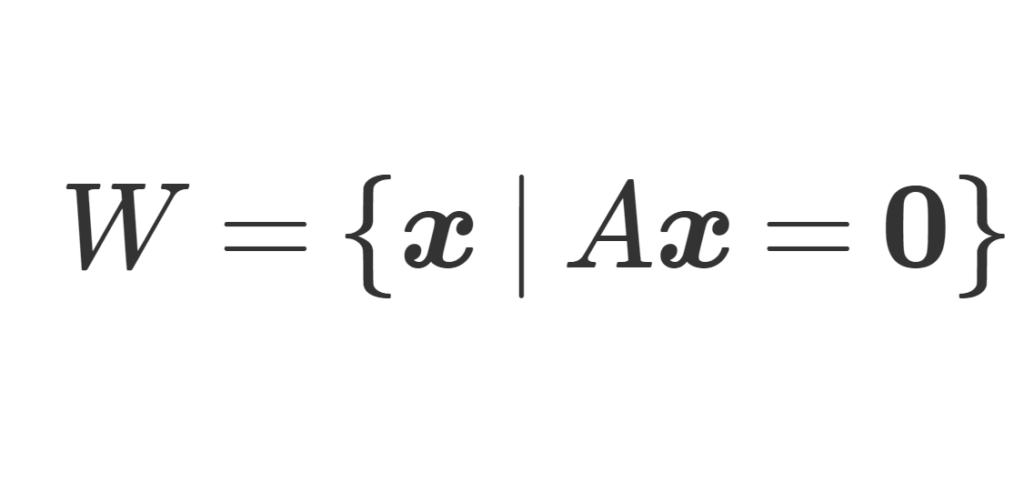 解空間の定義