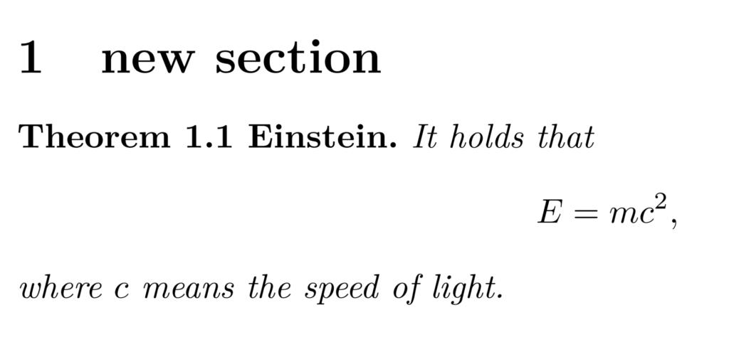定理の書式の変更例2