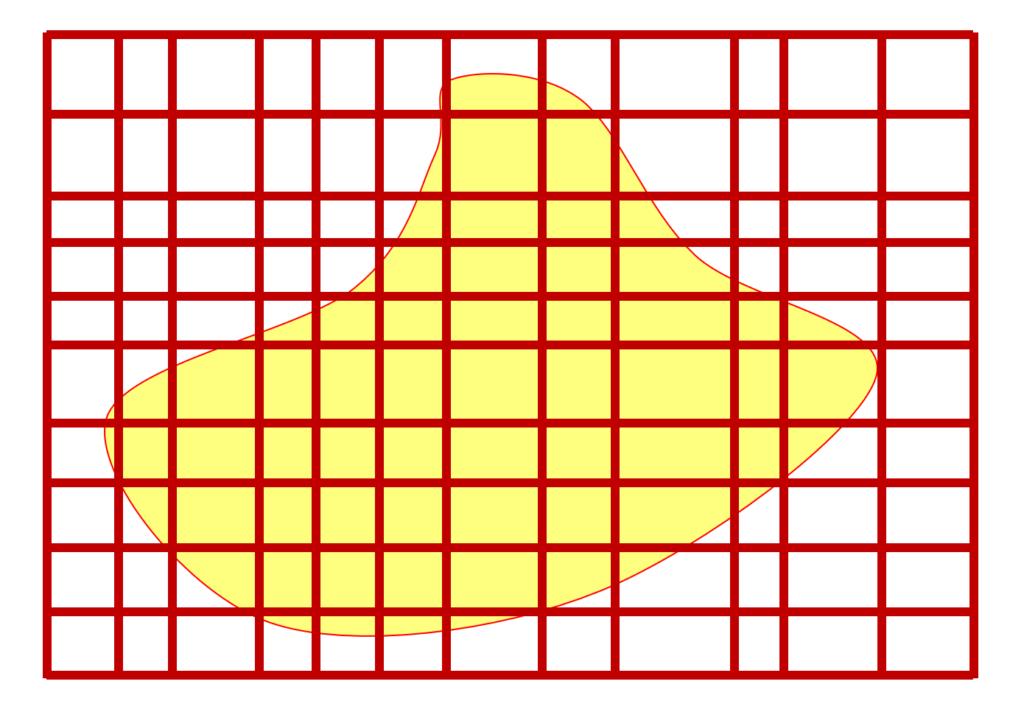 面積確定集合の長方形近似